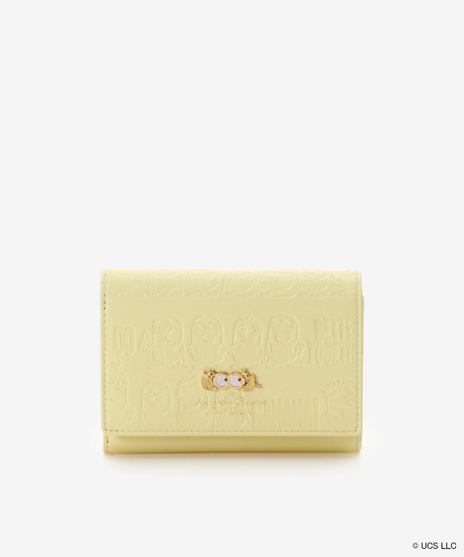 【ミニオン コレクション】ミニオン 型押し折財布