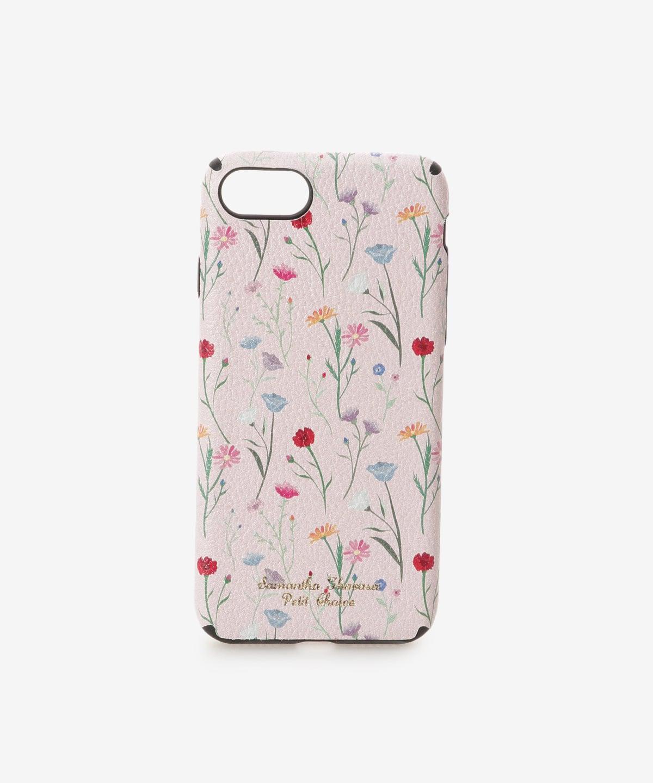 iPhone7-8ケース スプリンクルフラワー
