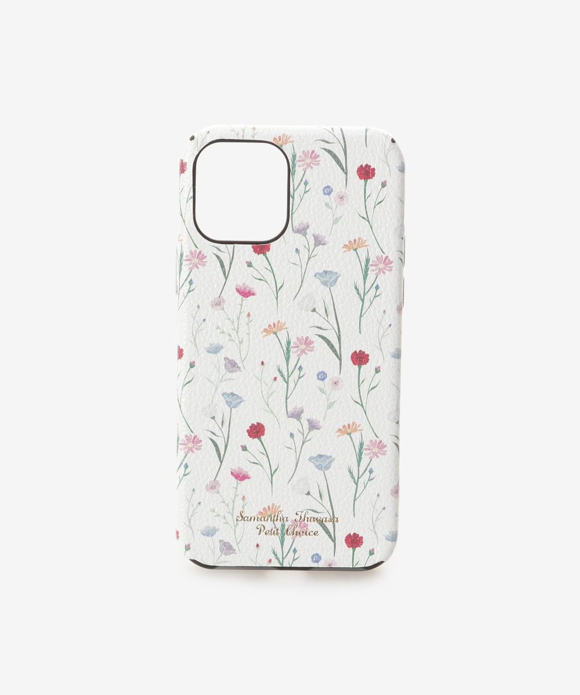 ★iPhone12-12proケース スプリンクルフラワー