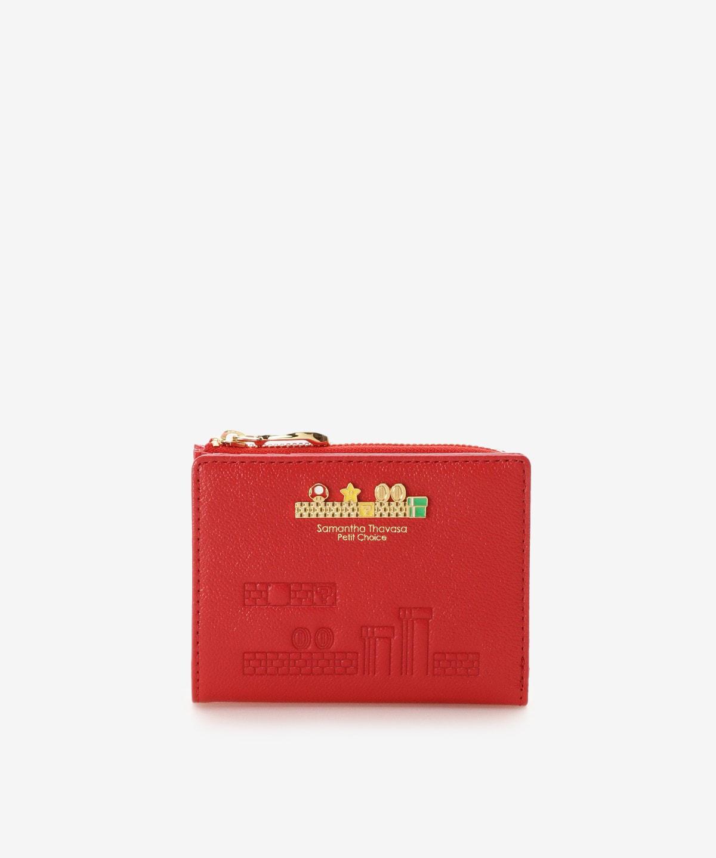 スーパーマリオ Lジップ折財布【ルイージ】