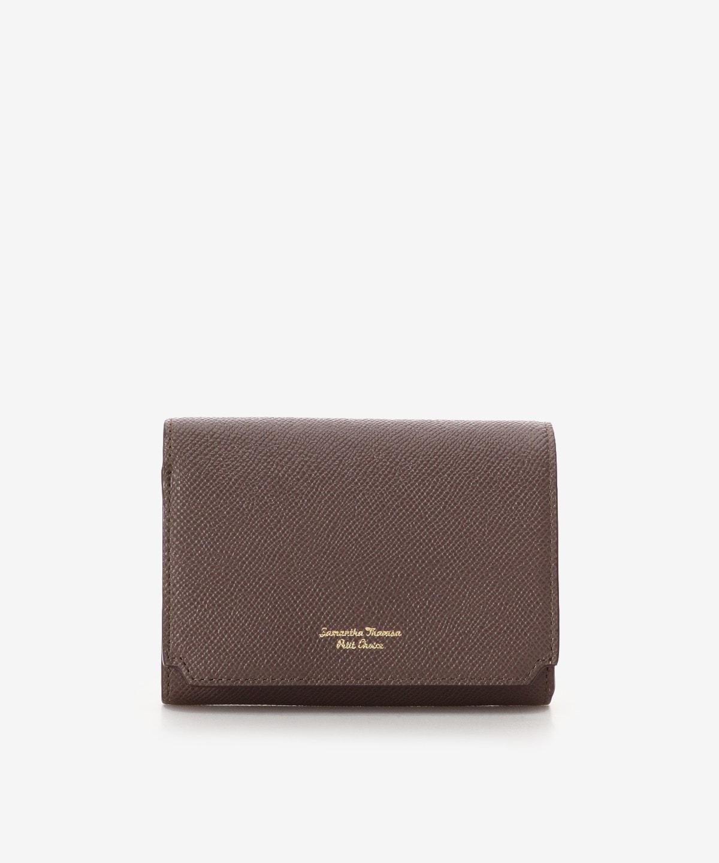 インサイドバイカラー折財布