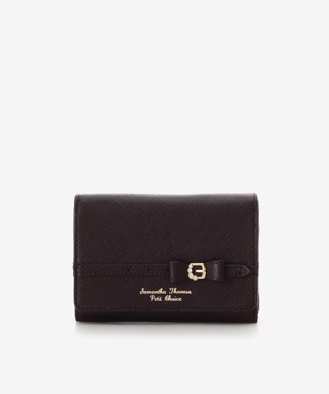 リボンビジューベルト 折財布