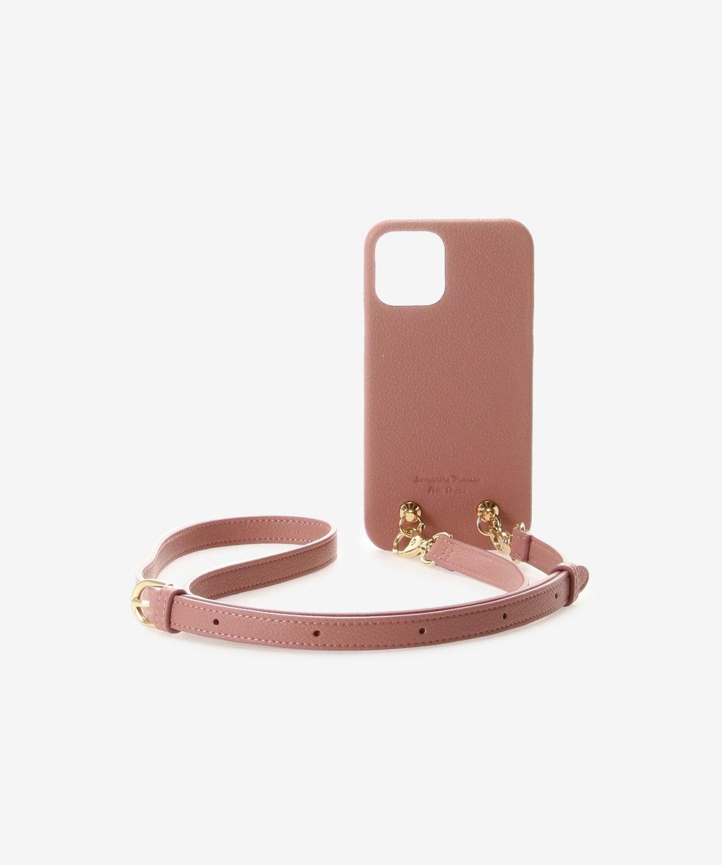 iPhone12-12proケース ショルダーストラップ付