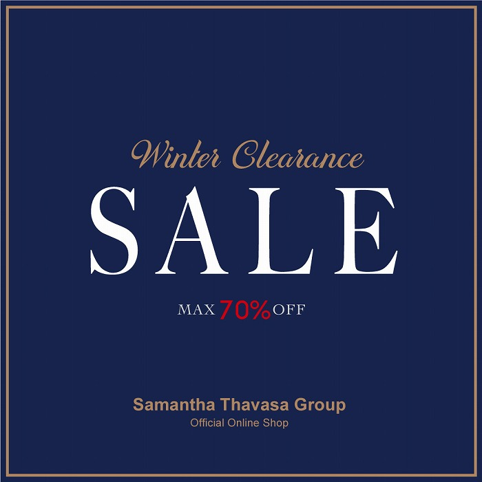 第2弾 2021 WINTER CLEARANCE SALE