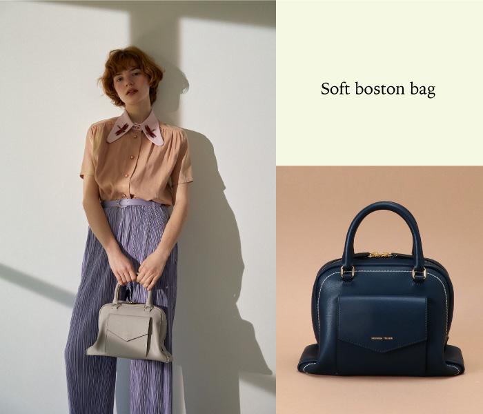Soft boston bag
